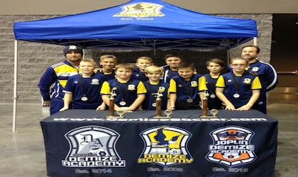 Springfield Demize Academy showcase at Branson Shootout Futsal Tournament